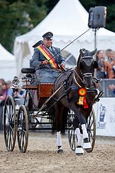 Koller, Christian (GER) Majerus<br /> Warendorf - Bundeschampionate 2017<br /> © www.sportfotos-lafrentz.de/Stefan Lafrentz