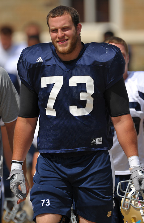 Offensive Tackle Lane Clelland (73)