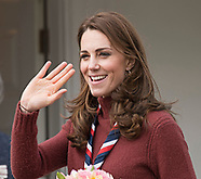 Kate Middleton Visits Scouts At Gilwell Park, Essex