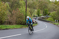 Ingrid Lorvik (NOR) in the break at ASDA Tour de Yorkshire Women's Race 2019 - Stage 1, a 132 km road race from Barnsley to Bedale, United Kingdom on May 3, 2019. Photo by Sean Robinson/velofocus.com