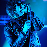 COLUMBIA, MD - May 1st, 2011: Julian Casablancas of The Strokes performs during the 2011 Sweetlife Festival at Merriweather Post Pavilion.  (Photo by Kyle Gustafson / For The Washington Post)
