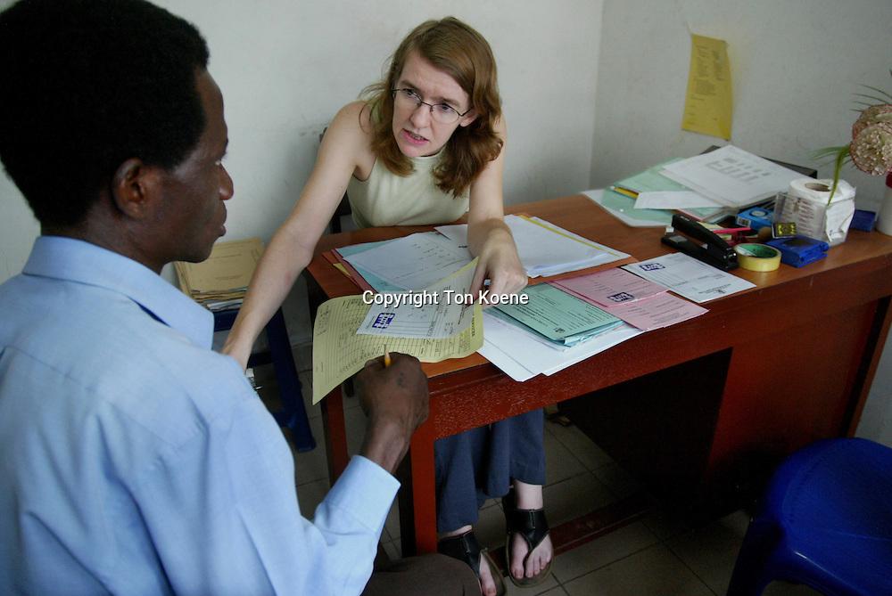 Aids clinic in Nigeria
