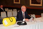 Sharkshield CEO Lindsay Lyon with the new Ocean Guardian, Duxton Hotel