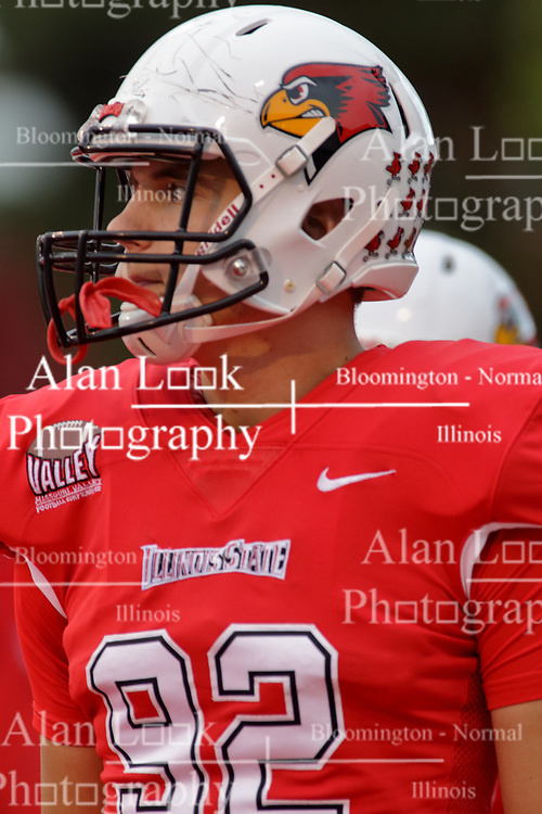 NORMAL, IL - September 08: Matt Swaine during 107th Mid-America Classic college football game between the ISU (Illinois State University) Redbirds and the Eastern Illinois Panthers on September 08 2018 at Hancock Stadium in Normal, IL. (Photo by Alan Look)