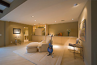 Guitar in interior of home