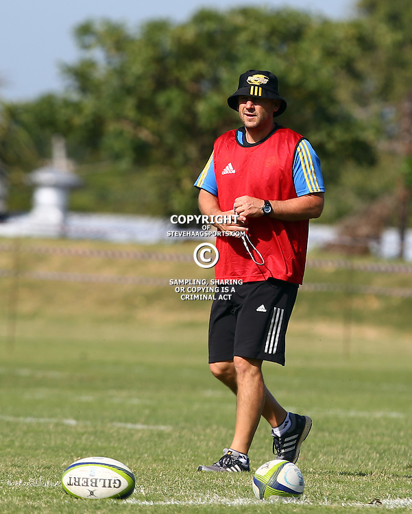 DURBAN, SOUTH AFRICA, 3, May 2016 - Jason Holland (Hurricanes assistant Coach) during the Hurricanes training session held at Northwood School Durban North , (Photographer Steve Haag) <br /> <br /> Images for social media must have consent from Steve Haag
