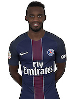 Jean Christophe Bahebeck of PSG during PSG photo call for the 2016-2017 Ligue 1 season on September, 7 2016 in Paris, France<br /> Photo : C.Gavelle/ PSG / Icon Sport