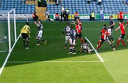 GOAL Blackburn Rovers' Joshua King turns to celebrate scoring his sides second goal 2-2 - Photo mandatory by-line: Robin White/JMP - Tel: Mobile: 07966 386802 29/03/2014 - SPORT - FOOTBALL - The Den - Millwall - Millwall v Blackburn Rovers - Sky Bet Championship