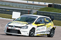 #17 Stefan DI RESTA  Power Maxed Racing  Volkswagen Polo Milltek Sport Volkswagen Racing Cup at Rockingham, Corby, Northamptonshire, United Kingdom. April 30 2016. World Copyright Peter Taylor/PSP.