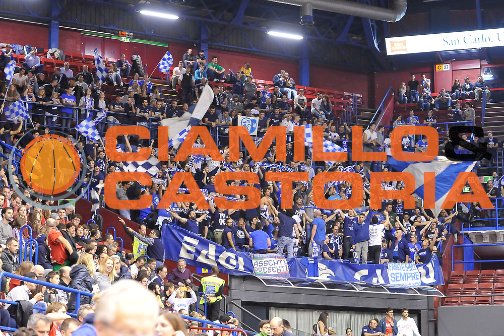 DESCRIZIONE : Campionato 2014/15 Olimpia EA7 Emporio Armani Milano - Acqua Vitasnella Cantu'<br /> GIOCATORE : Eagles Cantu'<br /> CATEGORIA : Ultras Tifosi Spettatori Pubblico<br /> SQUADRA : Acqua Vitasnella Cantu'<br /> EVENTO : LegaBasket Serie A Beko 2014/2015<br /> GARA : Olimpia EA7 Emporio Armani Milano - Acqua Vitasnella Cantu'<br /> DATA : 16/11/2014<br /> SPORT : Pallacanestro <br /> AUTORE : Agenzia Ciamillo-Castoria / Luigi Canu<br /> Galleria : LegaBasket Serie A Beko 2014/2015<br /> Fotonotizia : Campionato 2014/15 Olimpia EA7 Emporio Armani Milano - Acqua Vitasnella Cantu'<br /> Predefinita :