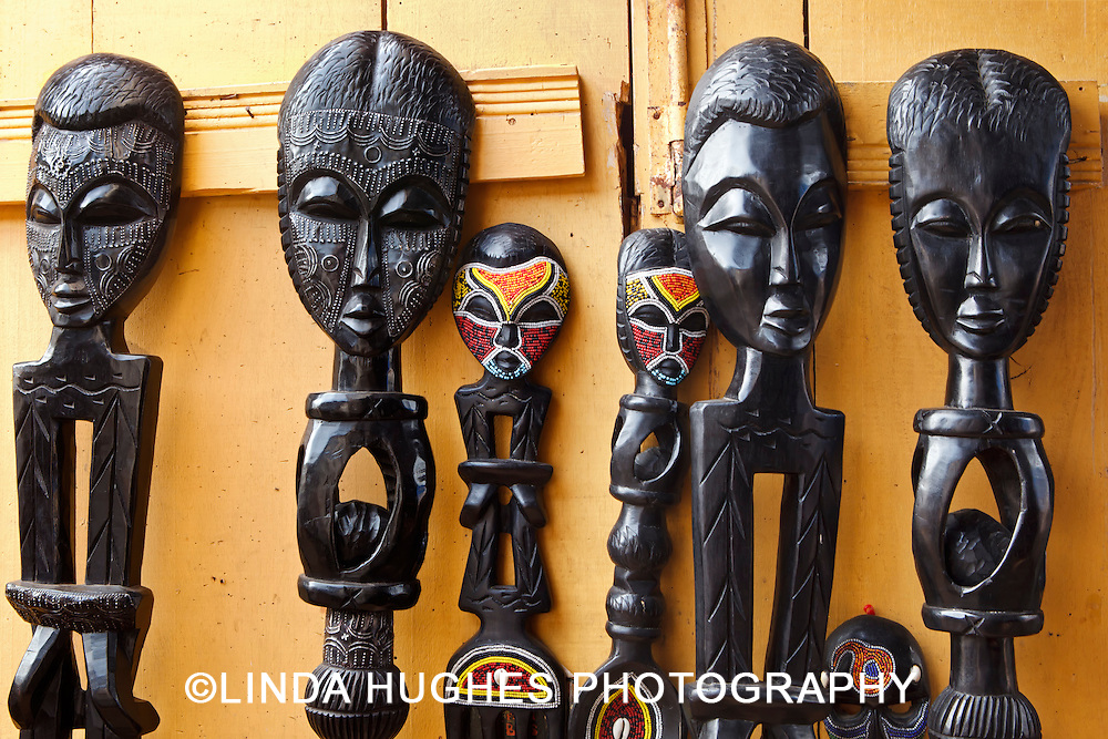 West African Art Carvings