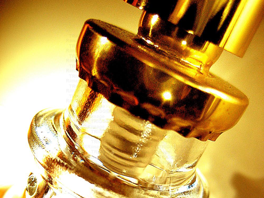 A macro shot of a scent diffuser