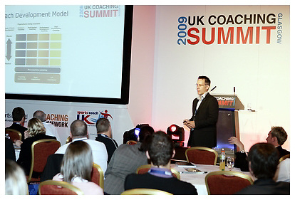 Sports Coach UK Summit Conference..Glasgow, Hilton. Wednesday 29-04-2009.