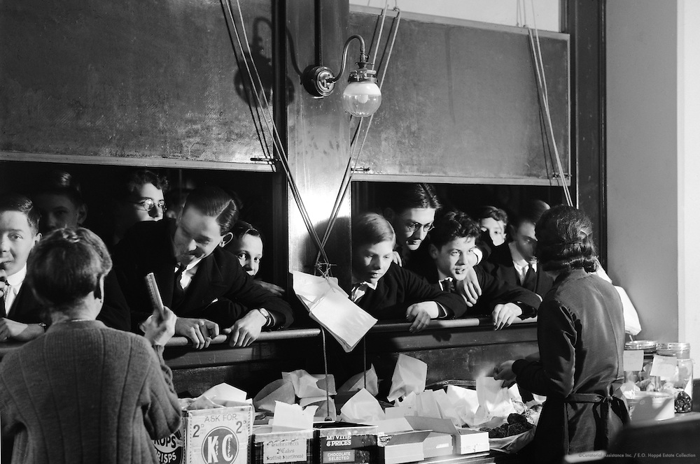 Tuck Shop, Westminster School, London, 1932
