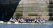 Mortlake/Chiswick, GREATER LONDON. United Kingdom. Leicester Rowing Club, Mx.MasC.8+, competing at the 2017 Vesta Veterans Head of the River Race, The Championship Course, Putney to Mortlake on the River Thames.<br /> <br /> <br /> Sunday  26/03/2017<br /> <br /> [Mandatory Credit; Peter SPURRIER/Intersport Images]