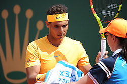 April 21, 2018 - Monaco - Tennis - Monaco - Raffael Nadal Espagne (Credit Image: © Panoramic via ZUMA Press)