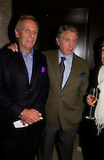 Mark Shand and Don McCullin. Book party for LAST VOYAGE OF THE VALENTINA by Santa Montefiore (Hodder & Stoughton) Asprey,  New Bond St. 12 April 2005. ONE TIME USE ONLY - DO NOT ARCHIVE  © Copyright Photograph by Dafydd Jones 66 Stockwell Park Rd. London SW9 0DA Tel 020 7733 0108 www.dafjones.com