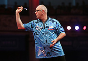Ian White during the World Matchplay Darts 2019 at Winter Gardens, Blackpool, United Kingdom on 24 July 2019.
