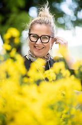 Portrait od Mojca Trnovec, owner of Restaurant Gostilna Mihovec, on May 10, 2019, in Zgornje Pirnice, Slovenia. Photo by Vid Ponikvar / Sportida