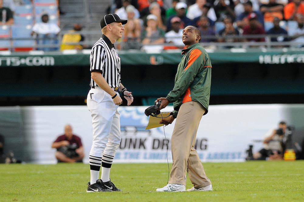 2010 Miami Hurricanes Football vs Virginia Tech