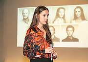 2019, June 04. JvE Studio, Almere, The Netherlands. Myrthe Burger at the press presentation of Mammoet.