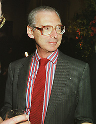 SIR TIM SAINSBURY at a reception in London on 1st March 1999.MOW 45
