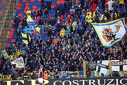 """Foto LaPresse/Filippo Rubin<br /> 13/05/2019 Bologna (Italia)<br /> Sport Calcio<br /> Bologna - Parmai - Campionato di calcio Serie A 2018/2019 - Stadio """"Renato Dall'Ara""""<br /> Nella foto: I TIFOSI DEL PARMA<br /> <br /> Photo LaPresse/Filippo Rubin<br /> May 13, 2019 Ferrara (Italy)<br /> Sport Soccer<br /> Bologna vs Parma - Italian Football Championship League A 2018/2019 - """"Dall'Ara"""" Stadium <br /> In the pic: PARMA SUPPORTERS"""
