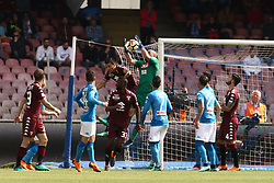 May 6, 2018 - Naples, Italy - Pepe Reina (SSC Napoli)....during the Italian Serie A football SSC Napoli v Torino FC at S. Paolo Stadium in Naples on May 6, 2018  (Credit Image: © Paolo Manzo/NurPhoto via ZUMA Press)