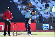 Chris Wokes during the One Day International match between South Africa and England at PPC Newlands, Capetown, South Africa on 4 February 2020.