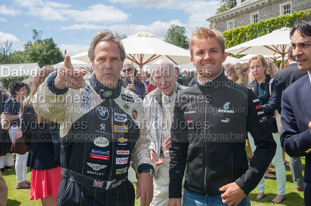 THE EARL OF MARCH; NICO ROSBERG, The Cartier Style et Luxe during the Goodwood Festivlal of Speed. Goodwood House. 1 July 2012.