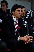 Middlesbrough Manger Aitor Karanka during the Sky Bet Championship match between Rotherham United and Middlesbrough at the New York Stadium, Rotherham, England on 1 November 2014.