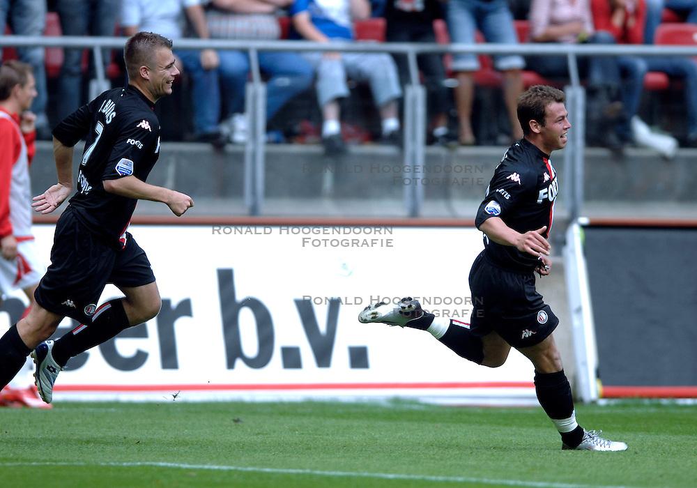 19-08-2007 VOETBAL: UTRECHT - FEYENOORD: UTRECHT<br /> Feyenoord wint met 3-0 in de Galgenwaard / Nick Hofs<br /> &copy;2007-WWW.FOTOHOOGENDOORN.NL