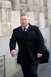 © Licensed to London News Pictures. 25/02/15 Ex Liverpool star Sammy Lee at the start of the court case in Newcastle Upon Tyne brought by Football agent Tony McGill against Bolton Chairman Phil Gartside and Ex Liverpool star Sammy Lee amongst others in an alleged £1million fraud case. Photo credit : John Millard/LNP