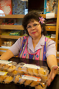 Manju, Home Maid Bakery, Wailuku, Maui, Hawaii