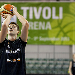 20130902: SLO, Basketball - Eurobasket 2013, Practice session of German team