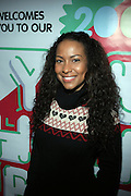 Valecia Butterfield at The Rush Philanthropic Arts Foundation's 9th Annual Youth Holiday Party Sponsored by Target. The annual holiday event brings together over 500 at-risk young people affiliated with the 50 youth arts organizations Rush Philanthropic supports...In celebration of the creative energy of our New York City Youth, this annual holiday event is all about showing love and support for the kids, and letting them know that their hard work and many accomplishments through out the year don't go unnoticed.