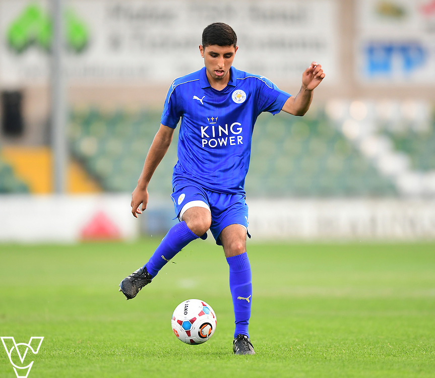 Leicester City&rsquo;s Rubyn Gill<br /> <br /> Lincoln City under 18s Vs Leicester City under 18s at Sincil Bank, Lincoln.<br /> <br /> Picture: Chris Vaughan/Chris Vaughan Photography<br /> <br /> Date: July 28, 2016