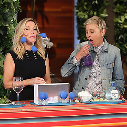 """Ellen DeGeneres releases a photo on Instagram with the following caption: """"It wouldn't be summer without lifestyle tips from my favorite nutjob, @KymDouglas."""". Photo Credit: Instagram *** No USA Distribution *** For Editorial Use Only *** Not to be Published in Books or Photo Books ***  Please note: Fees charged by the agency are for the agency?s services only, and do not, nor are they intended to, convey to the user any ownership of Copyright or License in the material. The agency does not claim any ownership including but not limited to Copyright or License in the attached material. By publishing this material you expressly agree to indemnify and to hold the agency and its directors, shareholders and employees harmless from any loss, claims, damages, demands, expenses (including legal fees), or any causes of action or allegation against the agency arising out of or connected in any way with publication of the material."""