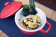 Mamia de foie with mango and ginger tapas at Hidalgo 56