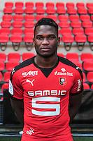 Dimitri Cavare - 15.09.2015 - Photo officielle Rennes - Ligue 1 2015/2016<br /> Photo : Philippe Le Brech / Icon Sport