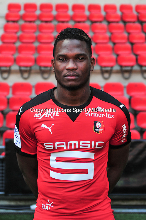 Dimitri Cavare - 15.09.2015 - Photo officielle Rennes - Ligue 1 2015/2016<br /> Photo : Philippe Le Brech / Icon Sport