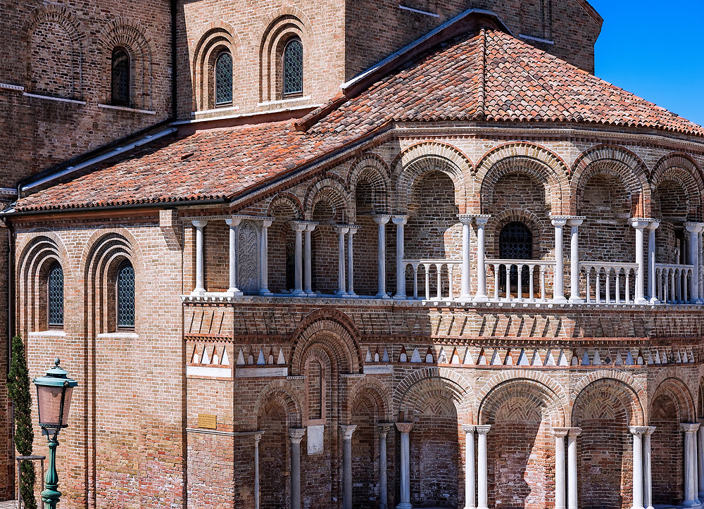 The Church of Santa Maria e San Donato, Murano, Venice, Veneto, Italy