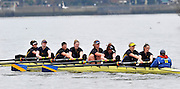 London. Great Britain, Nottingham RC, Senior, Penant winners Provincial Club. 2010 Women's Head of the River Race, Raced over the reverse Championship Course, Chiswick to Putney, River Thames, England,  Saturday   13/03/2010 [Mandatory Credit. Peter Spurrier/Intersport Images]