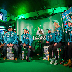 20171128: SLO, Ski Jumping - Press conference of Slovenian Men and Woman Ski Jumping team