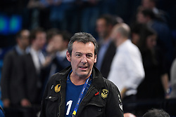 Jean Luc Reichmann during 25th IHF men's world championship 2017 match between France and Slovenia at Accord hotel Arena on january 26 2017 in Paris. France. PHOTO: CHRISTOPHE SAIDI / SIPA / Sportida