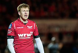 Scarlets' Rhys Patchell<br /> <br /> Photographer Simon King/Replay Images<br /> <br /> European Rugby Champions Cup Round 6 - Scarlets v Toulon - Saturday 20th January 2018 - Parc Y Scarlets - Llanelli<br /> <br /> World Copyright © Replay Images . All rights reserved. info@replayimages.co.uk - http://replayimages.co.uk