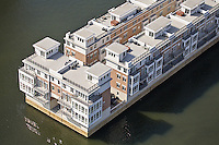 Aerial Photo of Condominiums on Pier at Baltimore Harbor