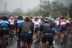 Audrey Cordon-Ragot (FRA) chats at the back of the peloton at GREE Tour of Guangxi Women's World Tour 2018, a 145.8 km road race in Guilin, China on October 21, 2018. Photo by Sean Robinson/velofocus.com
