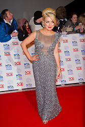 Sheridan Smith arrives at the National Television Awards at the 02 Arena, London Wednesday January 23, 2013. Photo by Chris Joseph / i-Images