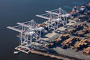 Aerial Photography of Seagirt Marine Terminal at the Port of Baltimore